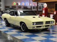 1969 Pontiac GTO two door hardtop (24237 code) painted