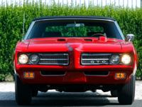 A Legendary 1969 Pontiac GTO Convertible! This is one