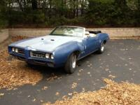 1969 gto convt up for sale no reserve .. !!!! This car