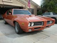 1969 Pontiac GTO. Car has been totally restored,