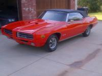 One of Only 108 GTO Judge Convertibles Produced