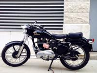 RESTORED original 1969 Royal Enfield Bullet 350cc.