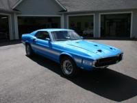 This offering is for a 1969 Shelby GT350 Mustang made