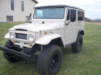 This 1969 Toyota FJ40 Land Cruiser is ready for it's