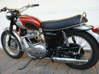 This is an exceptional 69 Bonneville. The recipient of