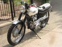 1969 Triumph Scrambler TT Special. -new parts as