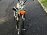 1969 Triumph T100 Tiger 500cc twin. Less than 600 miles
