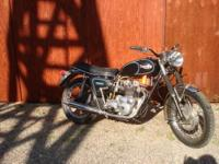 For Sale 1969 Triumph Trident This is an early model