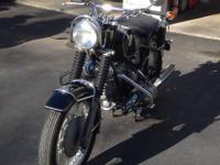 CLASSIC 1969 BMW R60/2 US design 2 cylinder motorbike,