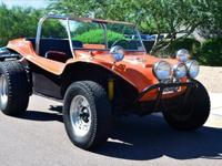 This Manx style Dune Buggy is registered as a 1969 and