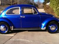 Brought back 1969 VW Beetle with minor body concerns