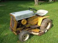 Up for sale is a 1969 Cub Cadat tractor... this tractor