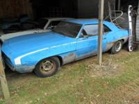 I have two 1969 Chevy Camaro's for sale, I bought these