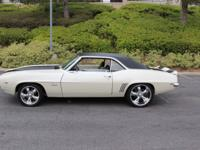 1969 Camaro Resto Rod Sport Coupe Car with just a