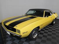 1969 Chevrolet Camaro Z28 rally-sport. This is an