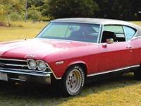 1969 Chevrolet Chevelle Malibu For Sale in Waynoka,