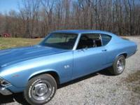 1969 Chevrolet Chevelle SS 396 High Performance This is