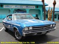 Blue Marlin Motors USA Proudly Prensent: 1969 Chevrolet
