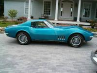 1969 Chevy Corvette Stingray. This car is in great