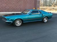 Rare 1969 Mach 1. Originally from California, almost