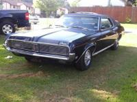 1969 Mercury Cougar (OK) - $8,500 113,000 miles Black