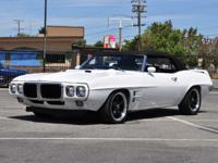This 1969 Pontiac Firebird 2 Door Convertible (Stock #