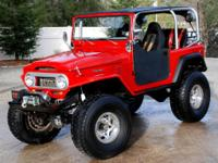 1969 Toyota Land Cruiser FJ40 One of a Kind.  One of a
