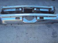 1970-1972 Chevy Monte Carlo original ( 2 ) Back Bumper.