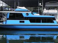 Type of Boat: House Boat Year: 1970 Make: MARINETTE