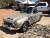 1970 DATSUN 1600 CONVERTIBLE CAR IS IN GREAT ORIGINAL