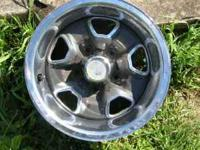 One lonely Super-Stock II wheel from 1970-72 Olds 442,
