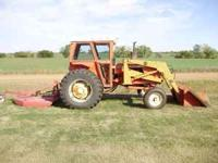 For sale is 1970 Allis Chalmers model 170 that Runs