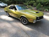 1970 AMX , 390, 4 SPEED, CAR IS WELL EQUIPPED WITH GO