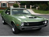 This car is one of the rarest muscle cars of the famous