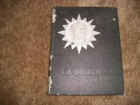 1970 Brawley High School Yearbook, In ok condition,