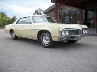 This 1970 Buick LeSabre Sedan features a 5.7 350 V8 cyl