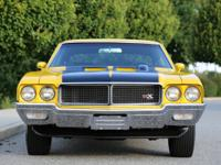 1970 Buick GSX matching numbers engine 455 V8 4 speed
