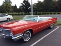 1970 CADILLAC COUPE DEVILLE 2 DOOR CONVERTIBLE - SWEET