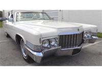 970 CADILLAC DEVILLE CONVERTIBLE. . . . . WHITE WITH