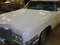 1970 Cadillac DeVille Convertible ..Triple White