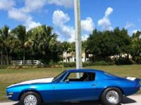 1970 Camaro with 423 small block. Beautiful car has a