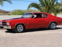 1970 Chevrolet Chevelle equipped with the baddest ALL