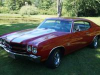 This desirable 70 Chevelle SS 396 has...TH 400, 3:31