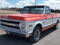 1970 CHEVROLET C10 CUSTOM AC  T Pick-up,