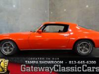 Stock #504-TPA 1970 Chevrolet Camaro $22,595  Engine: