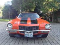 1970 Chevrolet Camaro Z/28 ... I am selling this