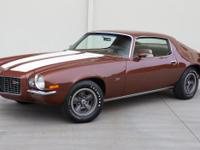 Extraordinary 1970 Camaro Z28 RS. This Z28 is powered
