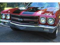 1970 Chevelle Big Block 396SS crate motor with red