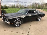 1970 Chevelle 454ci with moderate cam, edlebrock carb
