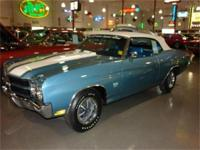 1970 CHEVROLET CHEVELLE SS CONVERTIBLE AWARD WINNING